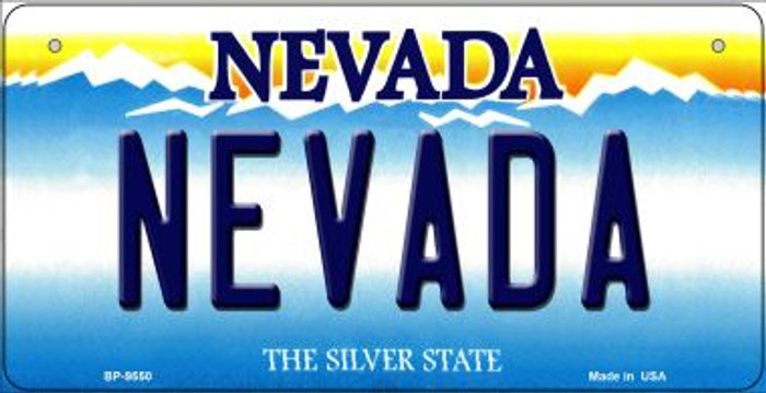 Nevada Novelty Metal Bicycle Plate BP-9550