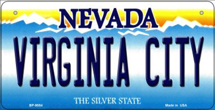Virginia City Nevada Novelty Metal Bicycle Plate BP-9554