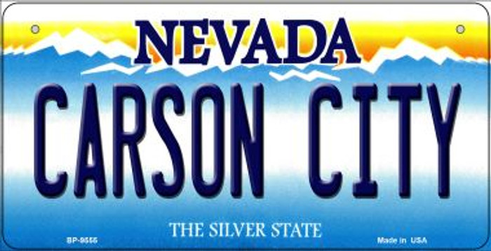 Carson City Nevada Novelty Metal Bicycle Plate BP-9555