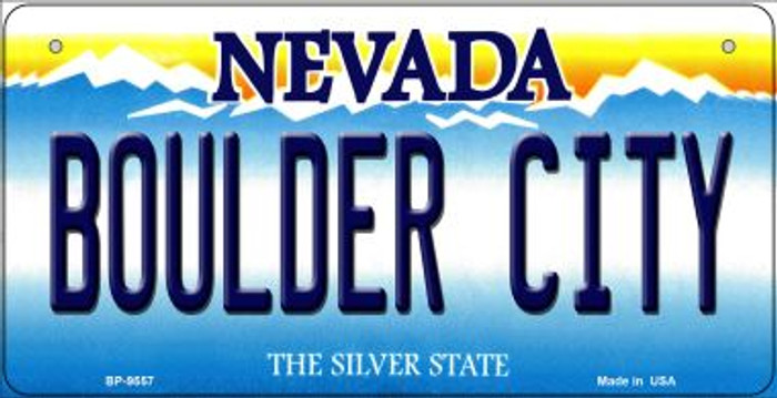 Boulder City Nevada Novelty Metal Bicycle Plate BP-9557