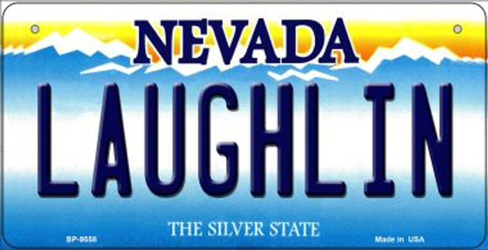 Laughlin Nevada Novelty Metal Bicycle Plate BP-9558