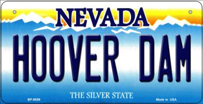 Hoover Dam Nevada Novelty Metal Bicycle Plate BP-9559