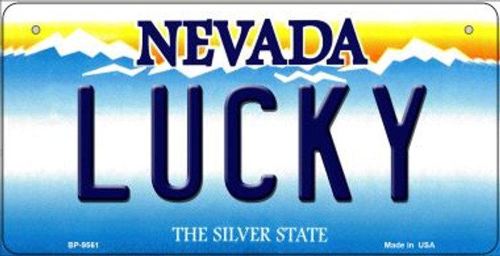 Lucky Nevada Novelty Metal Bicycle Plate BP-9561