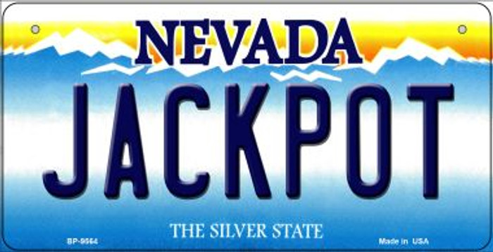 Jackpot Nevada Novelty Metal Bicycle Plate BP-9564
