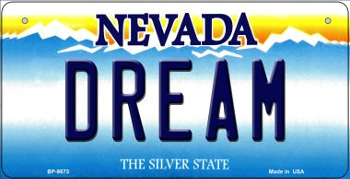 Dream Nevada Novelty Metal Bicycle Plate BP-9573