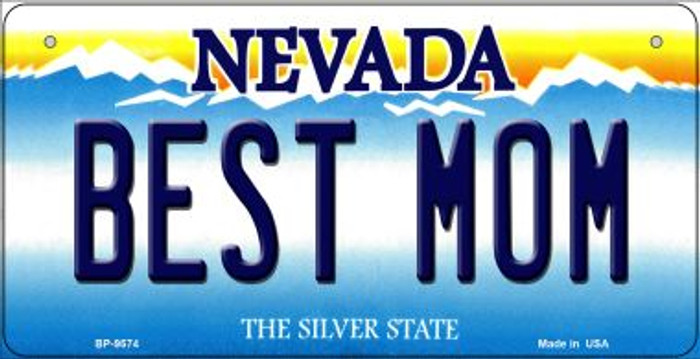 Best Mom Nevada Novelty Metal Bicycle Plate BP-9574