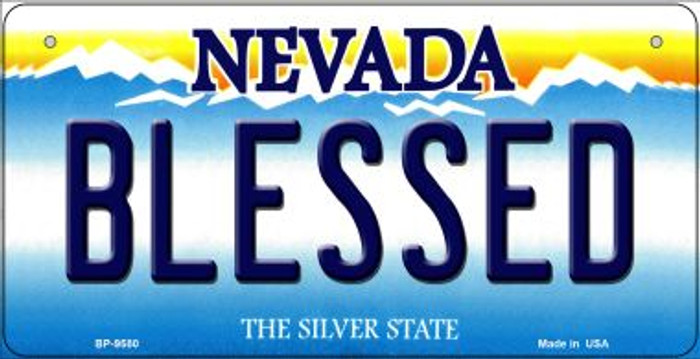 Blessed Nevada Novelty Metal Bicycle Plate BP-9580