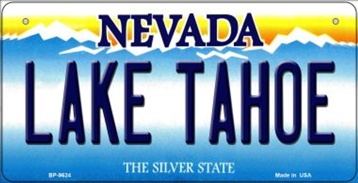 Lake Tahoe Nevada Novelty Metal Bicycle Plate BP-9624