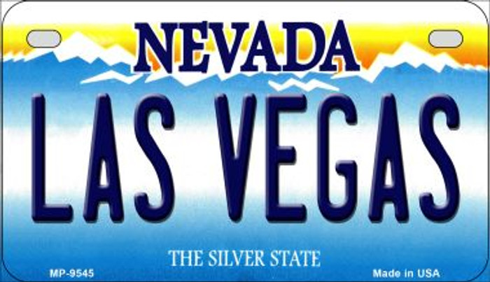 Las Vegas Nevada Novelty Metal Motorcycle Plate MP-9545