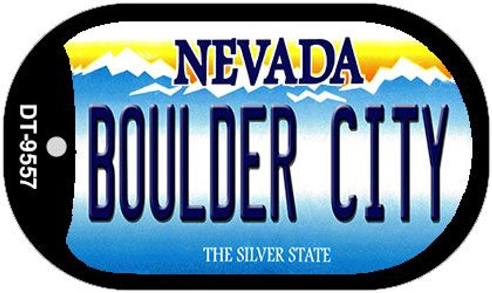 Boulder City Nevada Novelty Metal Dog Tag Necklace DT-9557