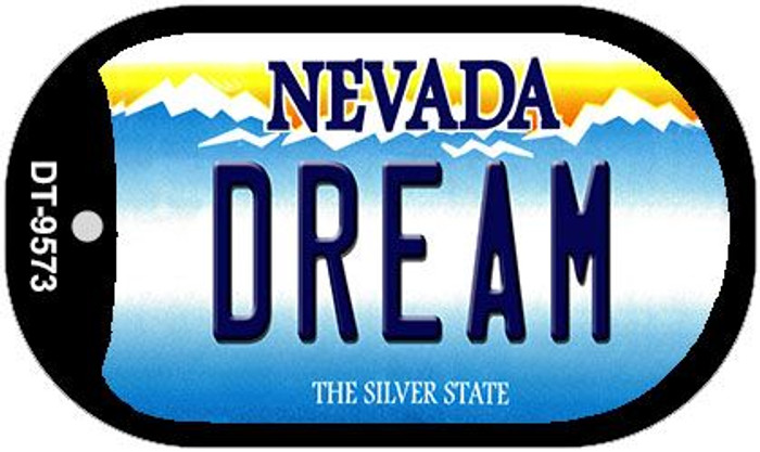 Dream Nevada Novelty Metal Dog Tag Necklace DT-9573