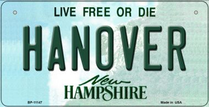 Hanover New Hampshire Novelty Metal Bicycle Plate BP-11147