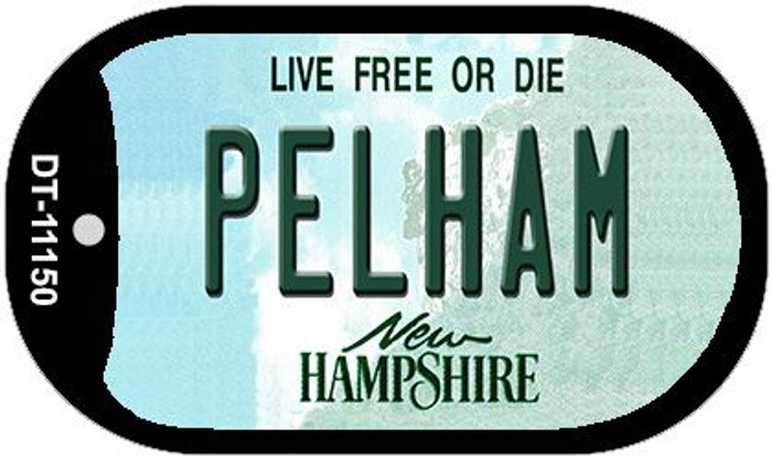 Pelham New Hampshire Novelty Metal Dog Tag Necklace DT-11150