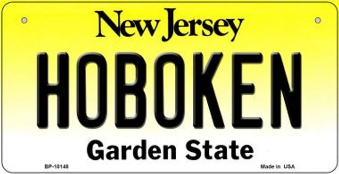 Hoboken New Jersey Novelty Metal Bicycle Plate BP-10148