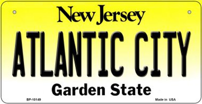 Atlantic City New Jersey Novelty Metal Bicycle Plate BP-10149