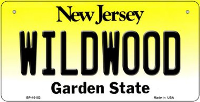 Wildwood New Jersey Novelty Metal Bicycle Plate BP-10153