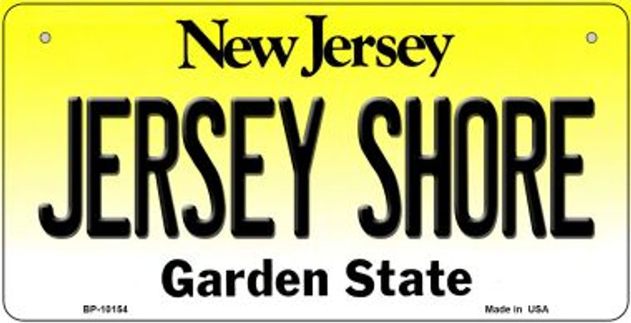Jersey Shore New Jersey Novelty Metal Bicycle Plate BP-10154