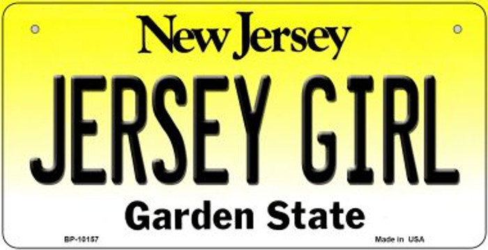 Jersey Girl Novelty Metal Bicycle Plate BP-10157