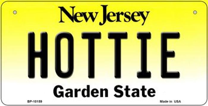 Hottie New Jersey Novelty Metal Bicycle Plate BP-10159