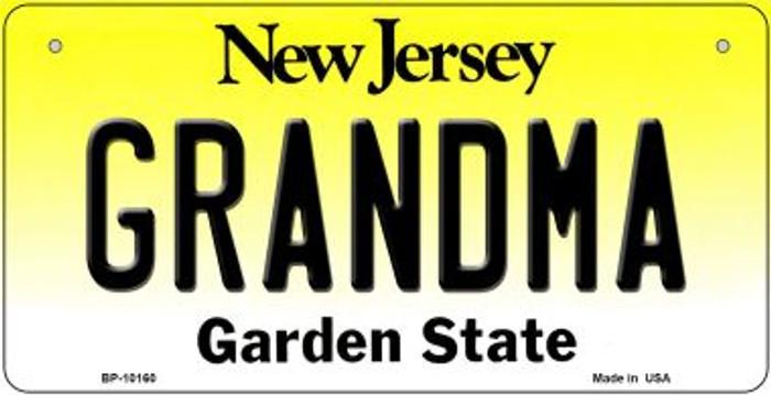 Grandma New Jersey Novelty Metal Bicycle Plate BP-10160
