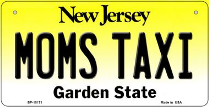Moms Taxi New Jersey Novelty Metal Bicycle Plate BP-10171
