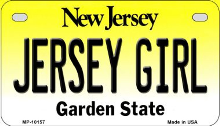 Jersey Girl Novelty Metal Motorcycle Plate MP-10157