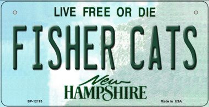 Fisher Cats New Hampshire Novelty Metal Bicycle Plate BP-12193