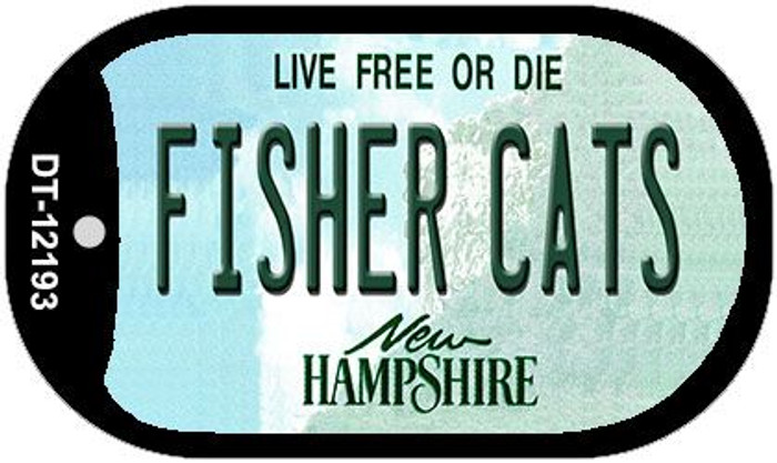 Fisher Cats New Hampshire Novelty Metal Dog Tag Necklace DT-12193