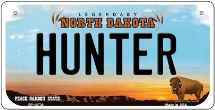 Hunter North Dakota Novelty Metal Bicycle Plate BP-10728