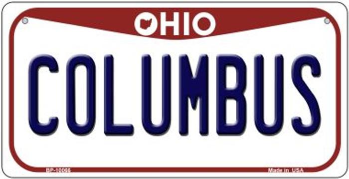 Columbus Ohio Novelty Metal Bicycle Plate BP-10066