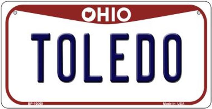 Toledo Ohio Novelty Metal Bicycle Plate BP-10069