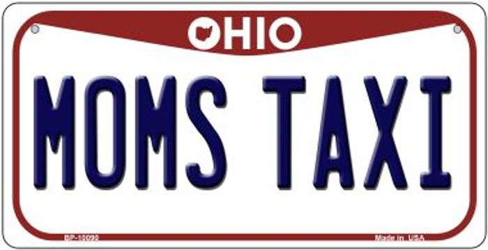 Moms Taxi Ohio Novelty Metal Bicycle Plate BP-10090