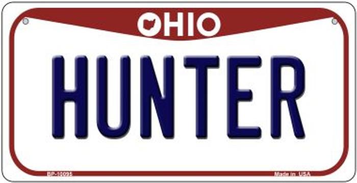 Hunter Ohio Novelty Metal Bicycle Plate BP-10095