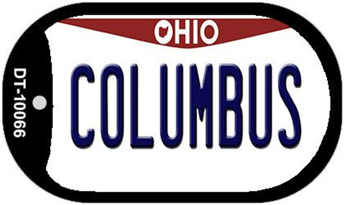 Columbus Ohio Novelty Metal Dog Tag Necklace DT-10066