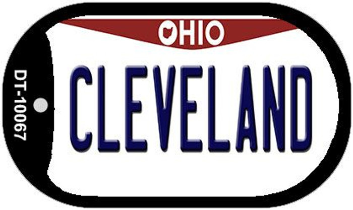 Cleveland Ohio Novelty Metal Dog Tag Necklace DT-10067
