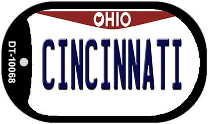 Cincinnati Ohio Novelty Metal Dog Tag Necklace DT-10068
