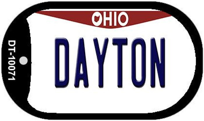 Dayton Ohio Novelty Metal Dog Tag Necklace DT-10071