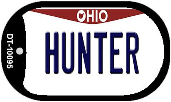 Hunter Ohio Novelty Metal Dog Tag Necklace DT-10095