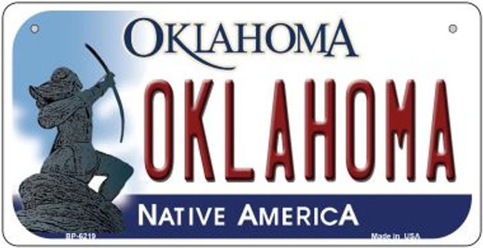Oklahoma Novelty Metal Bicycle Plate BP-6219
