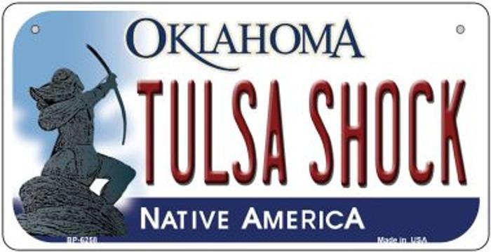 Tulsa Shock Oklahoma Novelty Metal Bicycle Plate BP-6258