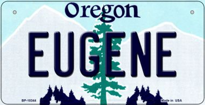 Eugene Oregon Novelty Metal Bicycle Plate BP-10344