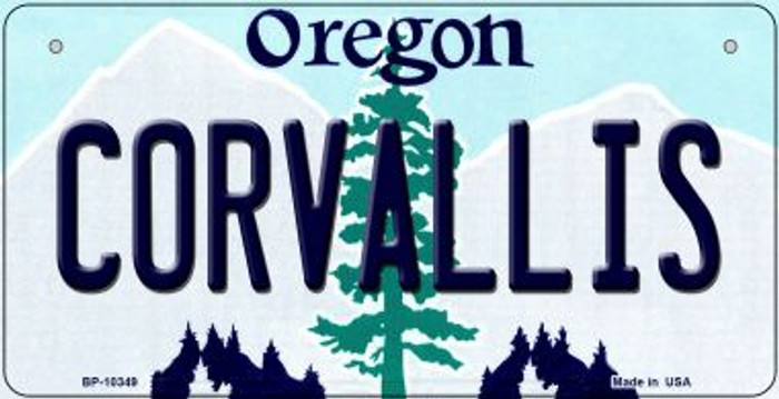 Coroallis Oregon Novelty Metal Bicycle Plate BP-10349