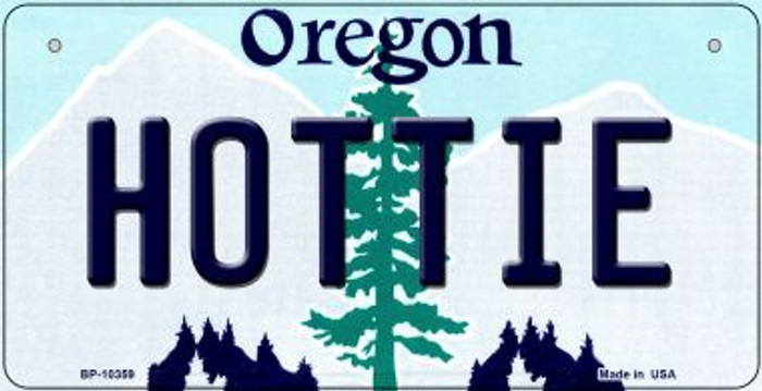 Hottie Oregon Novelty Metal Bicycle Plate BP-10359