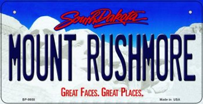 Mount Rushmore South Dakota Novelty Metal Bicycle Plate BP-9958