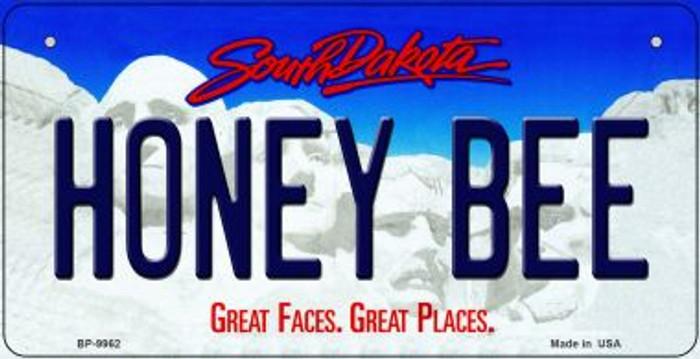 Honey Bee South Dakota Novelty Metal Bicycle Plate BP-9962