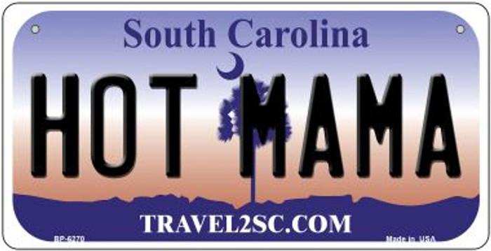 Hot Mama South Carolina Novelty Metal Bicycle Plate BP-6270