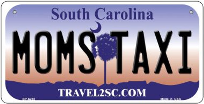 Moms Taxi South Carolina Novelty Metal Bicycle Plate BP-6282