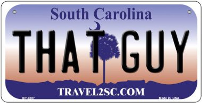 That Guy South Carolina Novelty Metal Bicycle Plate BP-6287