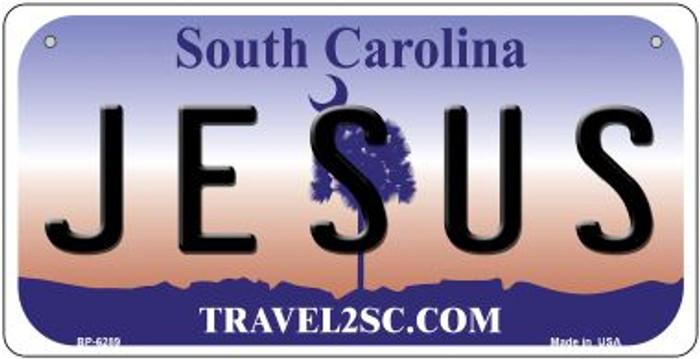 Jesus South Carolina Novelty Metal Bicycle Plate BP-6289