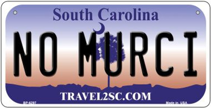No Murci South Carolina Novelty Metal Bicycle Plate BP-6297